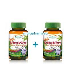 Промо пакет: Jamieson / Джеймисън Желирани мултивитамини за деца 60бр.  2 опаковки