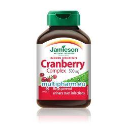 Jamieson Cranberry Complex / Кранбери Макс Комплекс - концентрат от червена боровинка за уринарния тракт 60капс