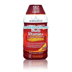 Wellesse / Мултивитамин+  течна формула 480ml