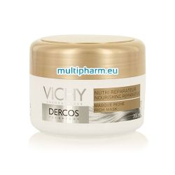 Vichy Dercos / Виши подхранваща и възстановяваща маска за суха и увредена коса 200ml