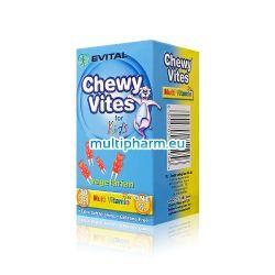 Evital Chewy Vites / Чуи Вайтс Плодови мечета мултивитамини за деца 30бр
