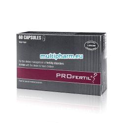 PROfertil / ПРОфертил за диетотерапия при мъже с нарушена оплодителна способност, които желаят да имат деца 60капс