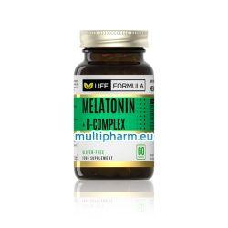 Life Formula / Мелатонин и B-комплекс за спокоен сън 60капс