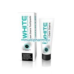 iWhite Dark Stains / Избелваща паста за зъби с активен въглен 75мл