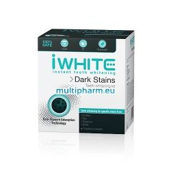 iWhite Dark Stains / Гел шини с активен въглен 10бр