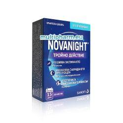 Novanight / Нованайт хранителна добавка спомагаща за качествен сън 30капс