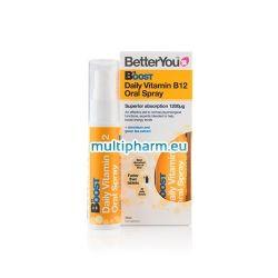 BetterYou B12 / Витамин B12 орален спрей 25ml за 40 дни