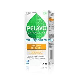Pelavo Gripactive / Пелаво Сироп за бронхи и гърло 120ml