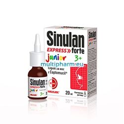 Sinulan Express Forte Junior / Синулан Експрес Форте Джуниър спрей при запушен нос за деца 20ml