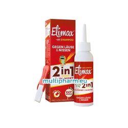 Elimax / Елимакс 2в1 шампоан против въшки и гниди 100ml