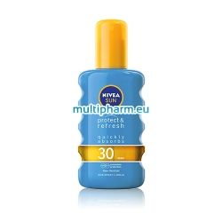 Nivea Sun Protect & Refresh IP / Нивеа Слънцезащитен охлаждащ спрей 200ml SPF30