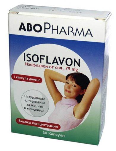 Isoflavon / Изофлавон За жените в менопауза 30капс.