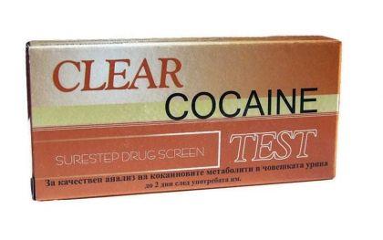 Clear / Тест за кокаин-касета