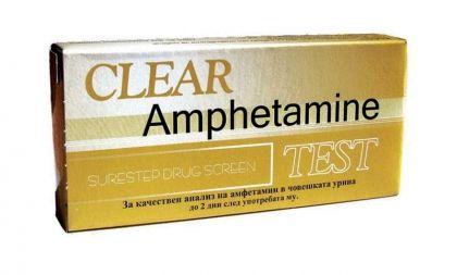 Clear / Тест За амфетамин-лента