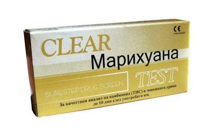 Clear / Тест За марихуана (THC)-касета