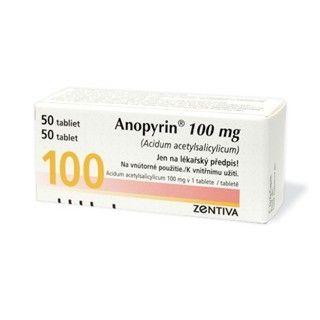 Anopyrin / Анопирин 100мг. 50табл.