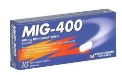 Mig-400 / Миг-400 болкоуспокояващо 10табл.
