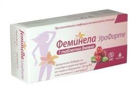 Feminella UroForte / Феминела УроФорте При възпаления и инфекции на пикочните пътища 30табл.