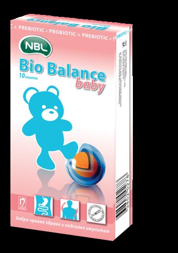 Bio Balance Baby / Био Баланс Бейби пробиотик + пребиотик 10сашета