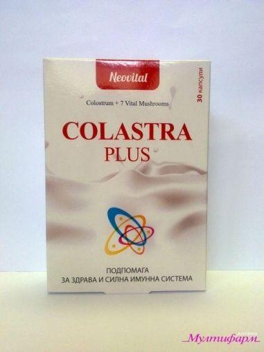 Colastra Plus / Коластра Плюс за здрава и силна имунна система 30капс.