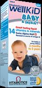 WellKid Baby / Уелкид Мултивитаминен сироп за деца и бебета 150мл.