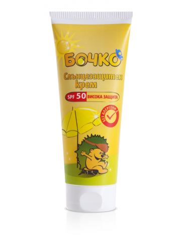 Bochko / Бочко Слънцезащитен Крем за деца SPF50+ 75мл.