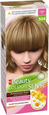 MM Beauty Colour Sense / ММ Бюти фито боя за коса без амоняк S04 средно русо