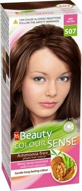 MM Beauty Colour Sense / ММ Бюти фито боя за коса без амоняк S07 див кестен