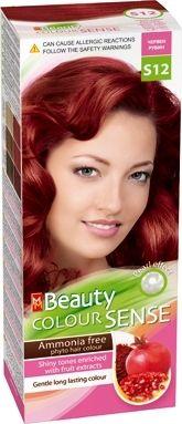 MM Beauty Colour Sense / ММ Бюти фито боя за коса без амоняк S12 червен рубин