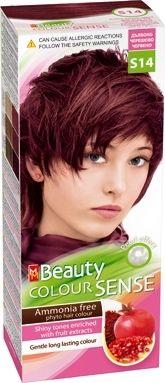 MM Beauty Colour Sense / ММ Бюти фито боя за коса без амоняк S14 дълбоко черешово червено