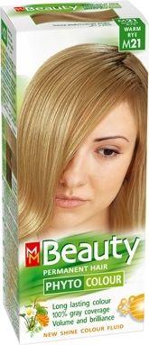 MM Beauty Phyto Colour / ММ Бюти фито боя за коса M21 топла ръж
