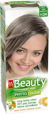 MM Beauty Phyto Colour / ММ Бюти фито боя за коса M24 светъл графит
