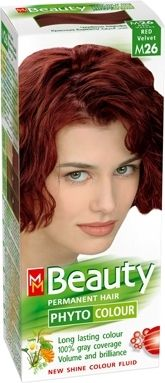 MM Beauty Phyto Colour / ММ Бюти фито боя за коса М26 червено кадифе