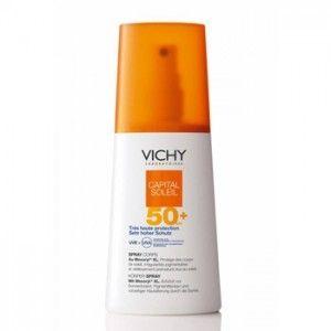 Vichy / Виши Слънцезащитен спрей SPF50+ за чувствителна кожа 200мл