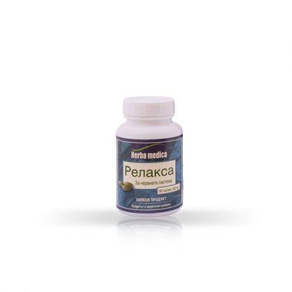 Herbamedica Relaxa / Релакса за успокоително въздействие на психиката 100 табл.