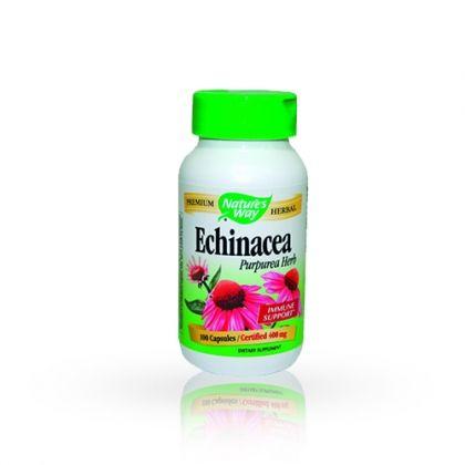 Nature's way Echinacea / Ехинацея мощен имуностимулатор 100 капс.