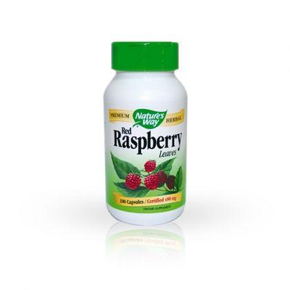 Nature's way Red Raspberry / Малина за стомашно-чревен баланс 100 капс.