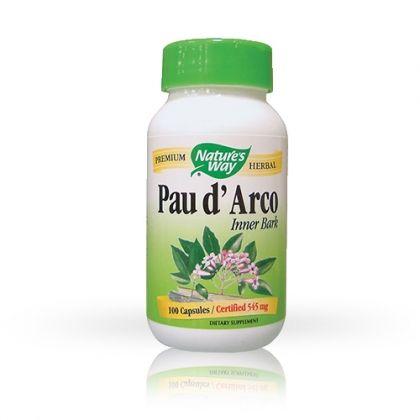 Pau d 'Аrko / Мравчено дърво имуностимулант с противогъбични и антиоксидантни свойства 180капс.