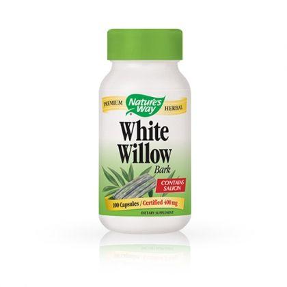 Nature's way White Willow Bark / Кора на бяла върба при задържане на течности 100капс.