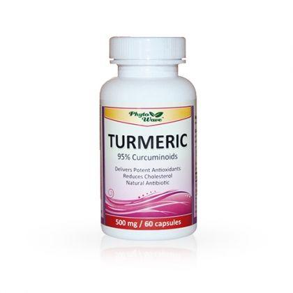 Phyto Wave Turmeric / Куркума мощен антиоксидант 60капс.
