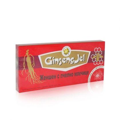 Ginseng Gel / Жен-шен + Пчелно млечице за енергия и имунитет 10фл.