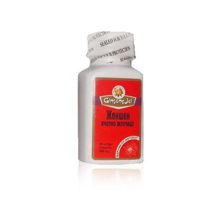 Ginseng Gel / Жен-шен + Пчелно млечице за енергия и имунитет 60капс.