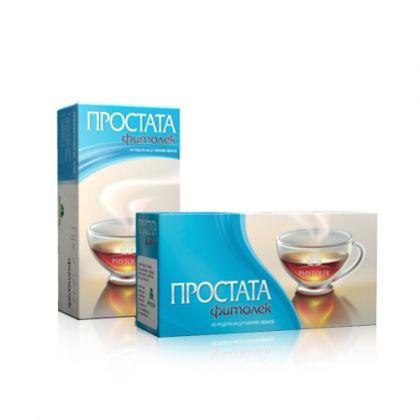 Fitolek / Фитолек Простата чай за подкрепа на простатата 20бр