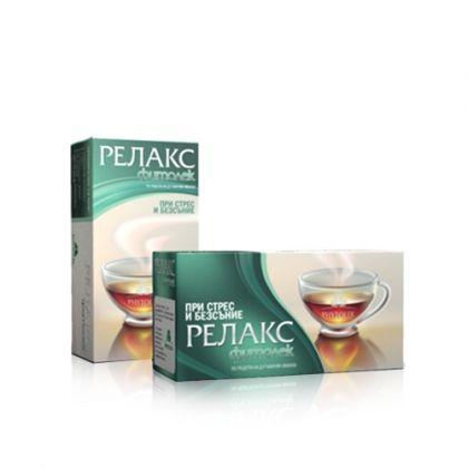 Fitolek / Фитолек Релакс чай за успокояване на нервното напрежение 20бр