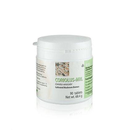 Coriolus-MRL / Кориолус За имунитет, при ракови заболявания, полови инфекции 90табл.