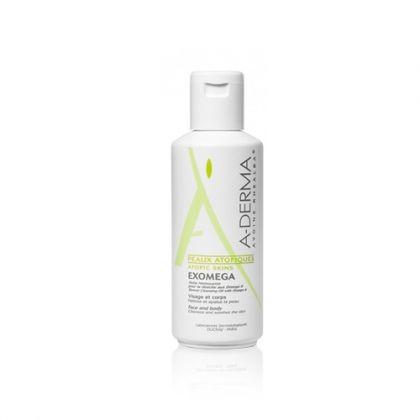 A-Derma Exomega / Екзомега почистващо олио за лице и тяло за суха и атопична кожа при бебета, деца и възрастни 200ml