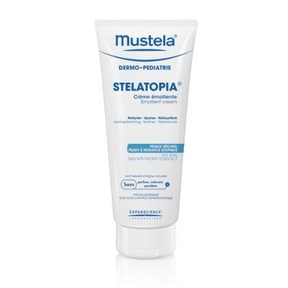 Mustela Stelatopia / Мустела Емолиентен крем за атопична кожа 200мл.