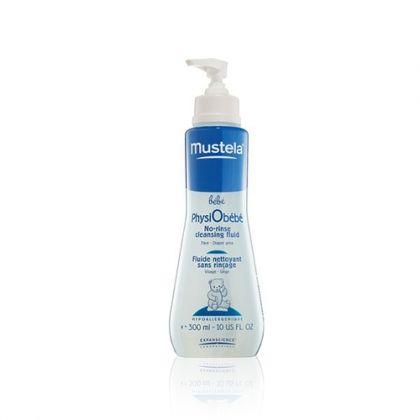 Mustela Bebe / Мустела Почистващ флуид без изплакване 300мл.
