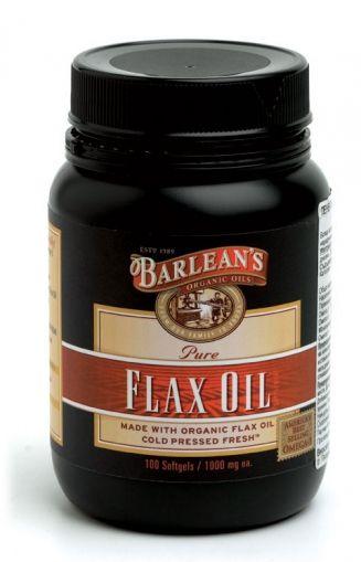 Barlean's / Ленено масло 1000мг 100капс.