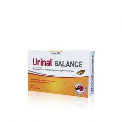 Urinal Balance / Уринал Баланс за нормалното функциониране на уринарния тракт 20капс
